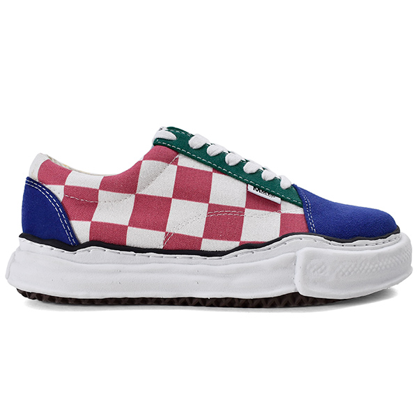 big gingham lowcut sneaker/MULTI