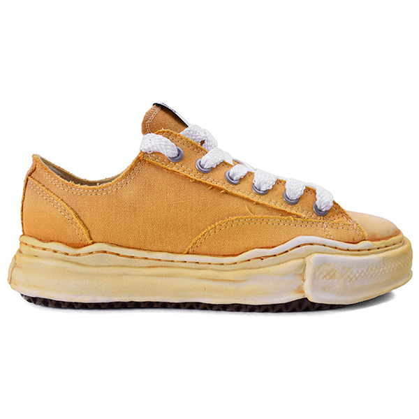 original sole overdie lowcut sneaker/YELLOW