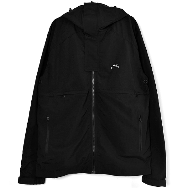 HOODED STORM JACKET/BLACK