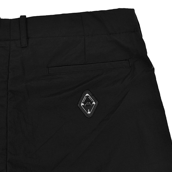 TAILOREED NYLON TROUSERS/BLACK