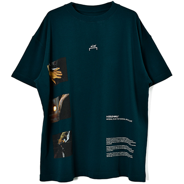 GLASS BLOWER T-SHIRT/GREEN