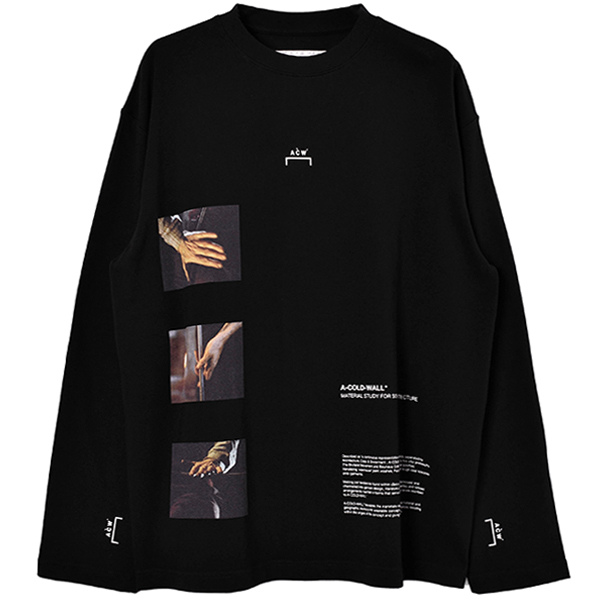 GLASS BLOWER LS T SHIRT/BLACK