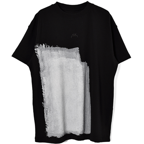 ACW PRINT T-SHIRT/BLACK