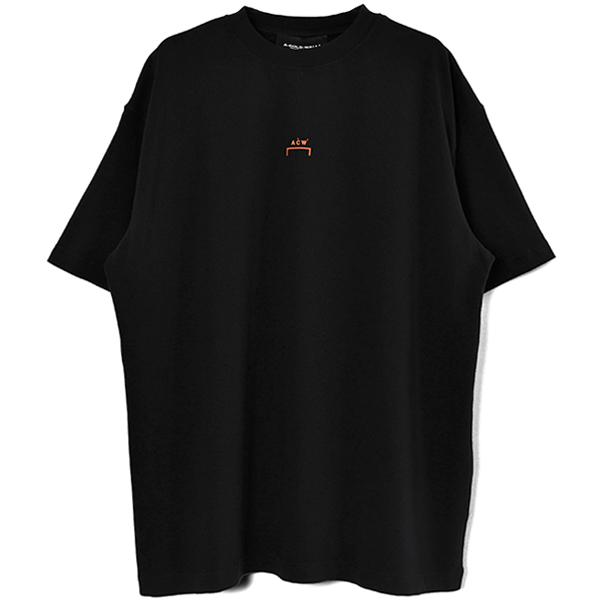 KNITTED EROISON T-SHIRT/BLACK