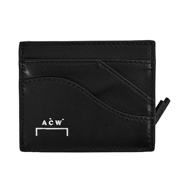 CURVE ZIP COIN PURSE/BLACK