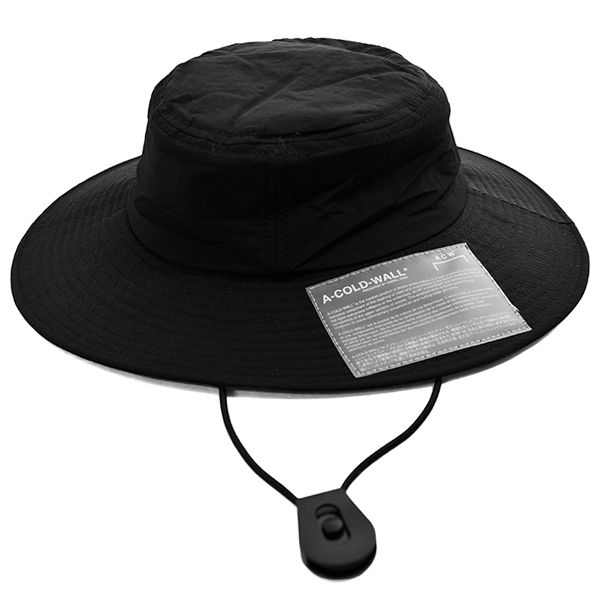 SNAP POCKET BUCKET HAT/BLACK