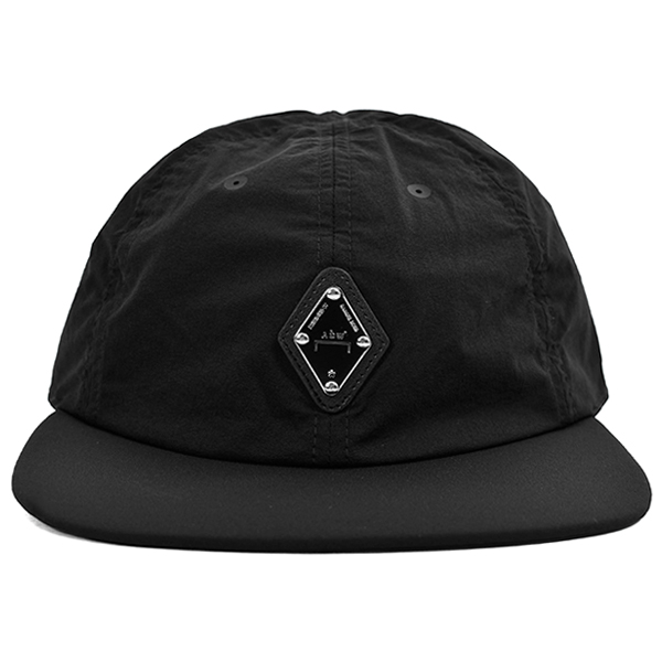 RHOMBUS BADGE CAP/BLACK