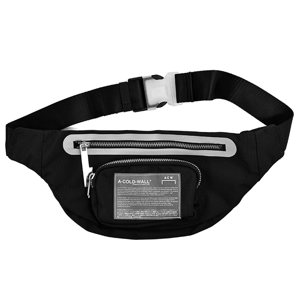 MISSION STATEMENT WAIST BAG/BLACK
