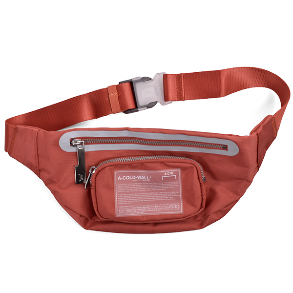 MISSION STATEMENT WAIST BAG/RED CLAY
