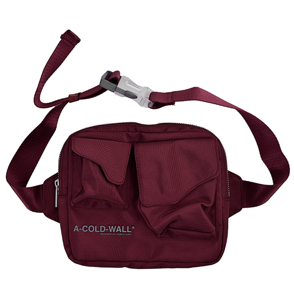 ABDOMEN BAG/BURGUNDY