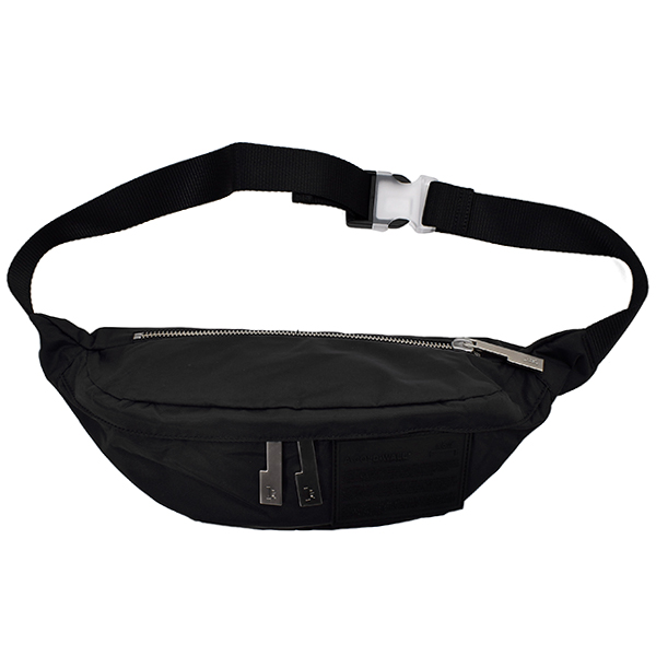 NYLON BODYBAG/BLACK