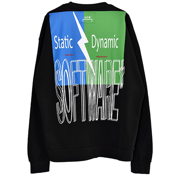SOFTWARE CREWNECK/BLACK