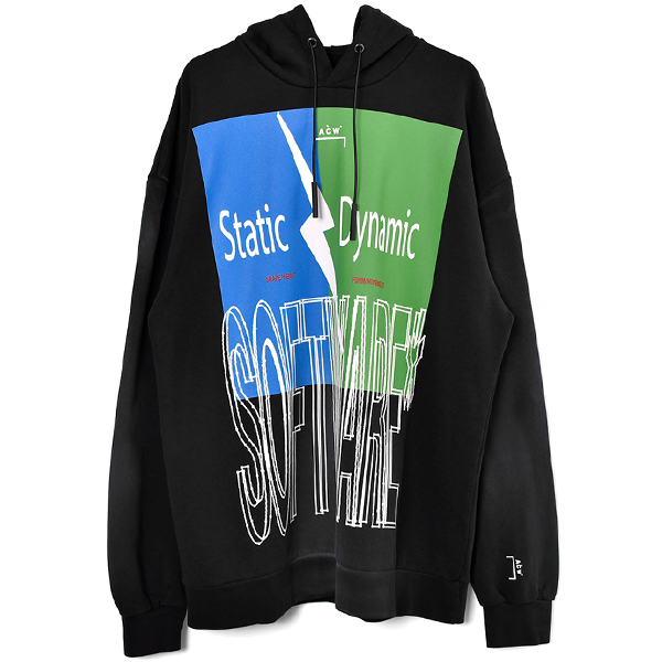 SOFTWARE HOODY/BLACK