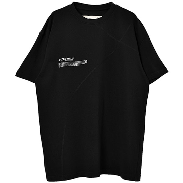 ACW T-SHIRT WITH MISSION STATEM/BLACK