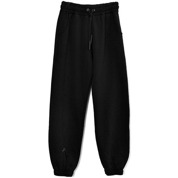 ELASTICATED CORE BOTTOMS/BLACK