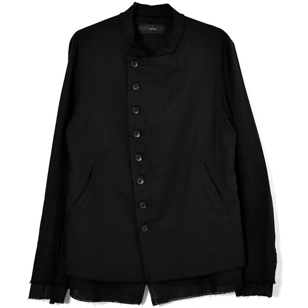 GRUNGE OFFICER JACKET / BLACK