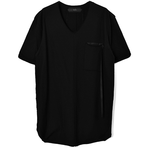 RIBBON POCKET CUTSEW / BLACK