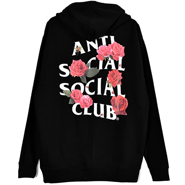 SMELLS BAD ROSE HOODIE/BLACK