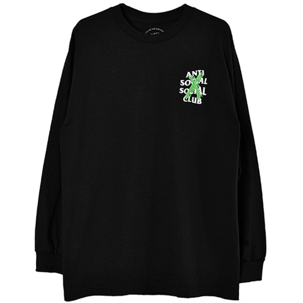 CANCELLED REMIX L/S TEE/BLACK