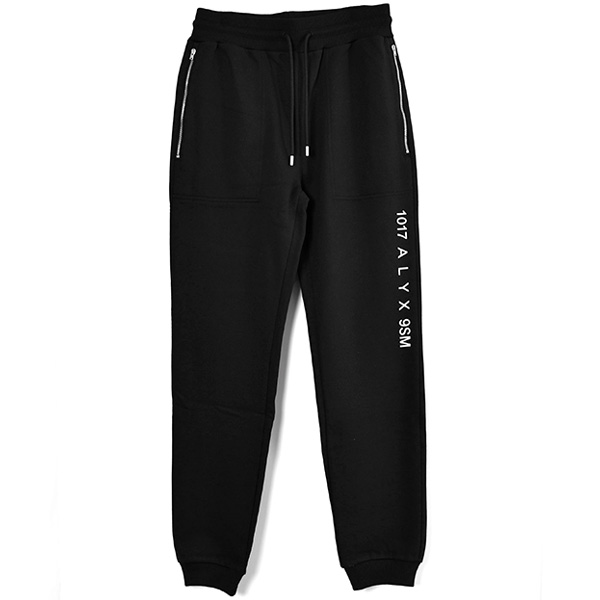 SWEATPANT VISUAL/BLACK