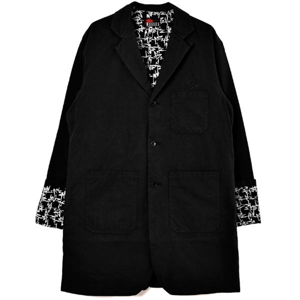 BRUSH FACTORY COAT/BLACK