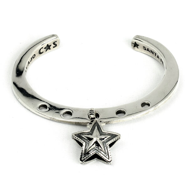 Lucky Charm Bracelet-Star Charm in Center(Cuffs)