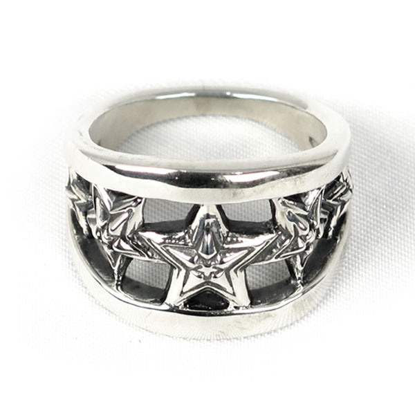 5 Star in Star Cut Out(Rings)