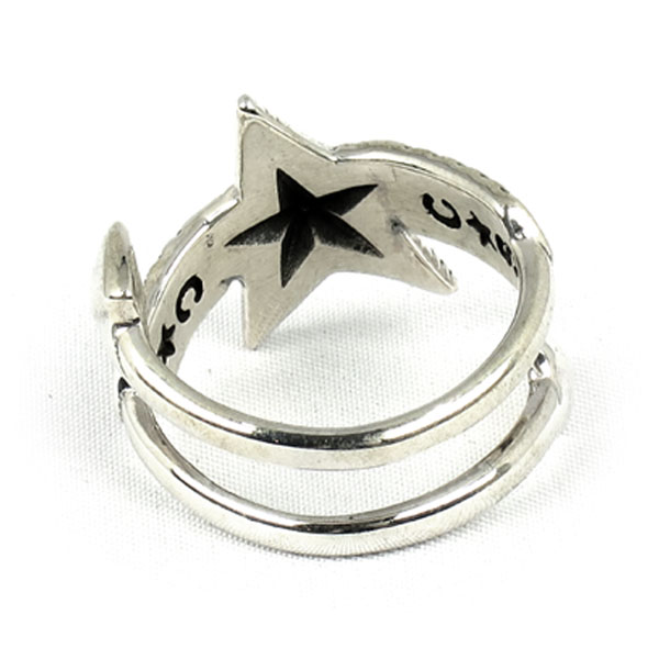 Double Large Arrow Large Star(Rings)