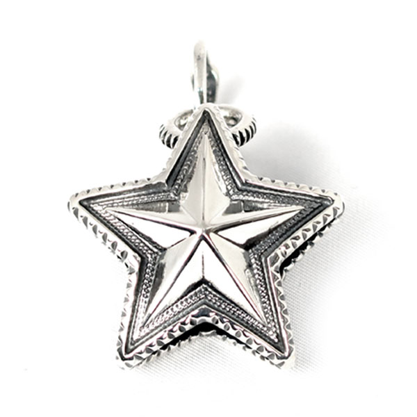 Reversible Star w/Arrow Bail(Pendants)