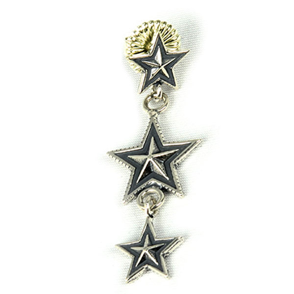 3 star dangiling(Earring)