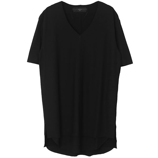 LAYERED CUTSEW 1st(V-neck) / BL