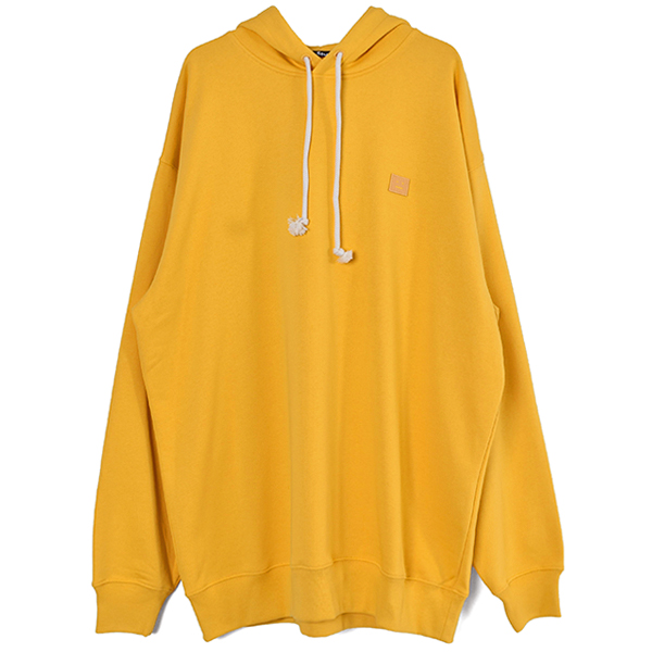 Oversized hooded sweatshirt/HONEY YELLOW