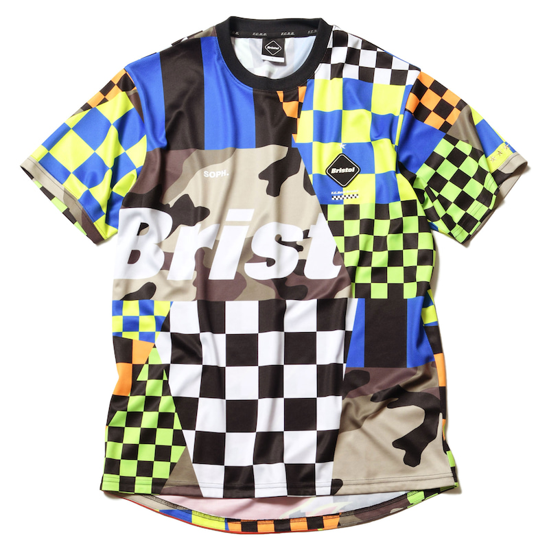 MULTI PATTERN S/S TEE(FCRB-190028)