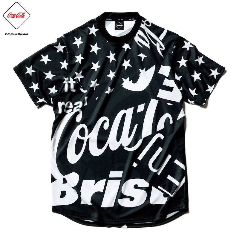 COCA-COLA MULTI PATTERN S/S TOP(FCRB-200008)