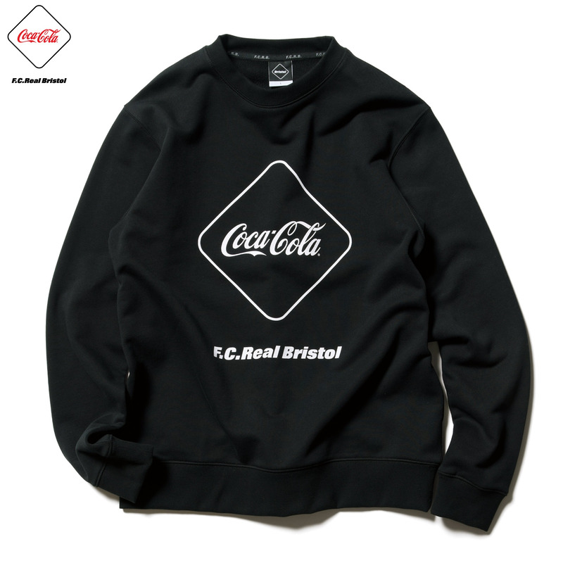 【ポイント30倍】COCA-COLA EMBLEM CREWNECK SWEAT(FCRB-200017)