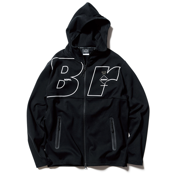 RELAX FIT ZIP UP HOODIE(FCRB-200057)