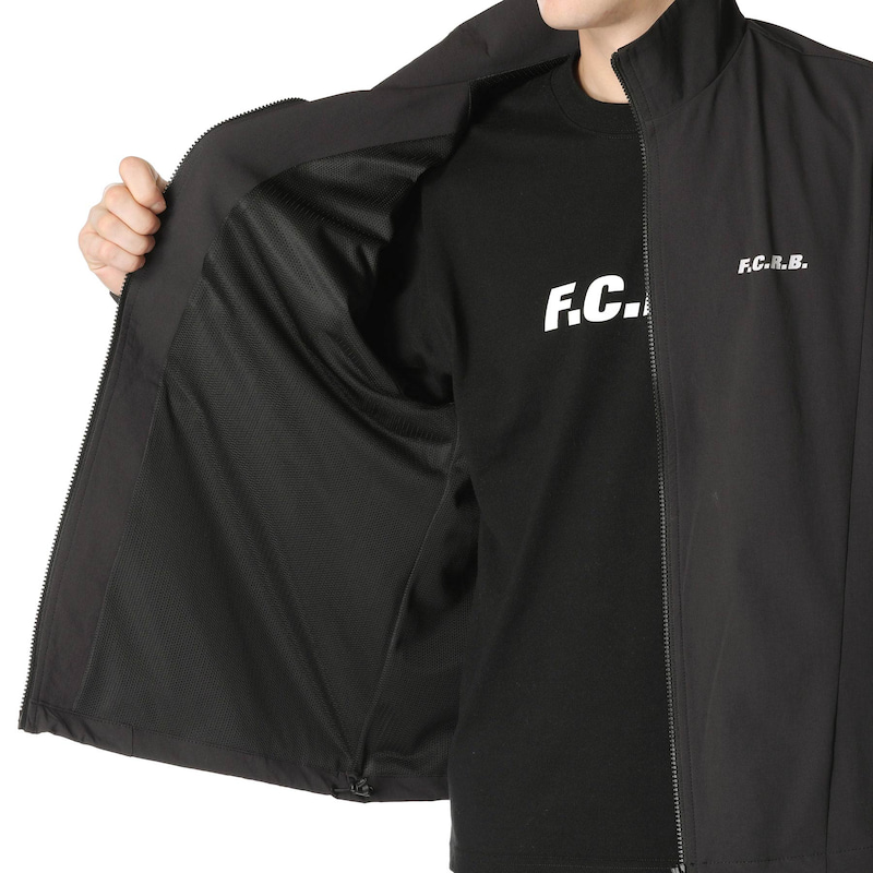 STAND COLLAR BLOUSON(FCRB-200061)