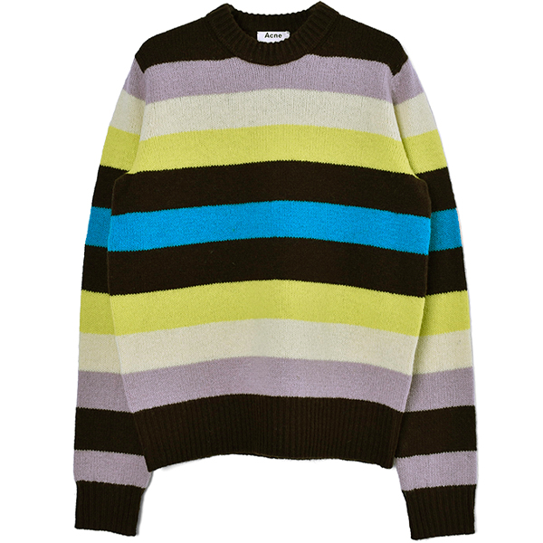 Kai Wool Block Stripe/YELLOW MULTI