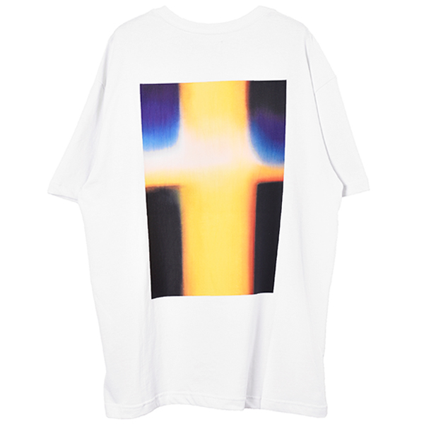 BOXY PHOTO TEE/WHITE