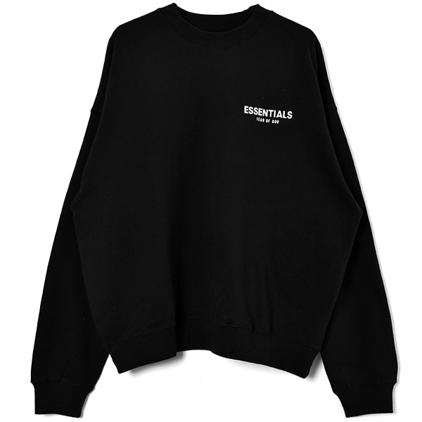 FOG CREW SWEAT/BLACK