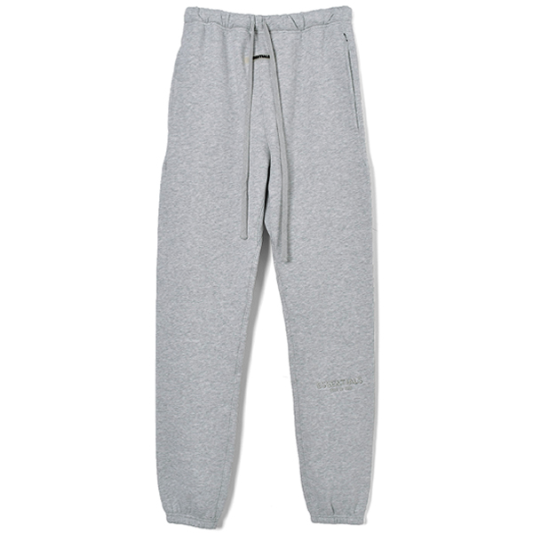 EMBROIDERY LOGO SWEAT PANTS/GRAY