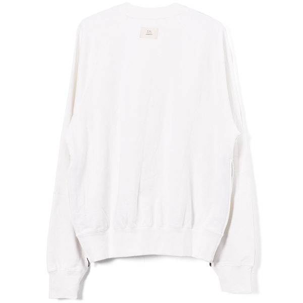 MOCK NEAK FLEECE /OFFWHITE