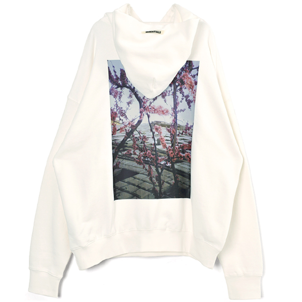 PHOTO SERIES PULLOVER HOODIE/WHITE