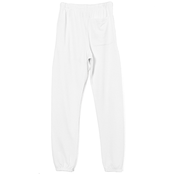 REFLECTIVE LOGO SWEAT PANTS/WHITE