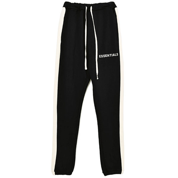 SIDE STRIPE SWEATPANTS/BLACK