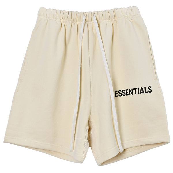 SWEAT SHORTS/CREAM