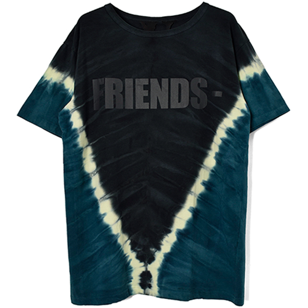 FRIENDS SS TEE HOUSTON POP UP/TIE DYE