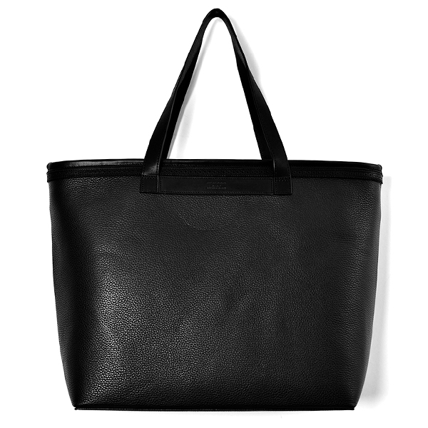 BROGUE TOTE BAG/BLACK
