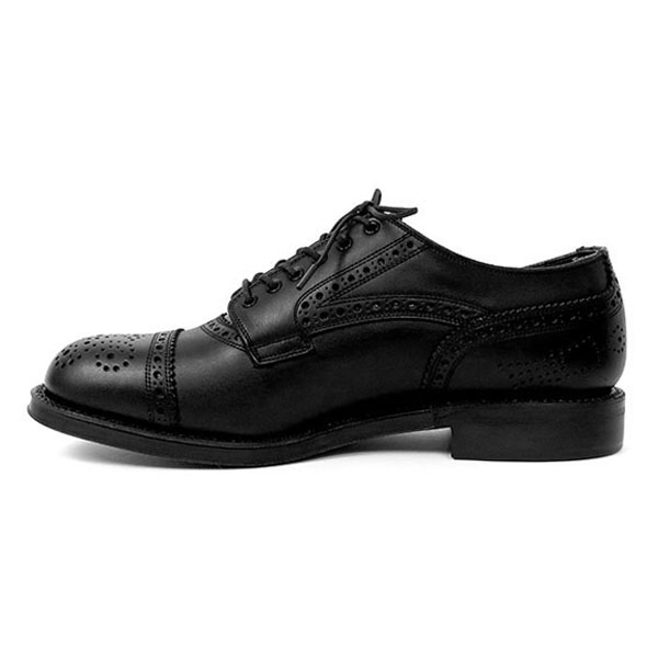 MENDELL(LEATHER SOLE)/BLACK