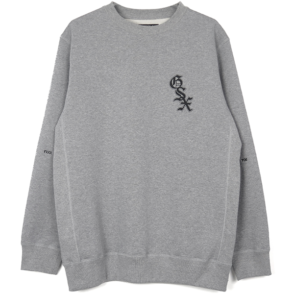 SWEATSHIRTS/GRAY(GX-A19-1404-234)